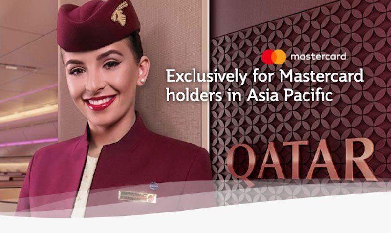 Mastercard SALE on Qatar Airways