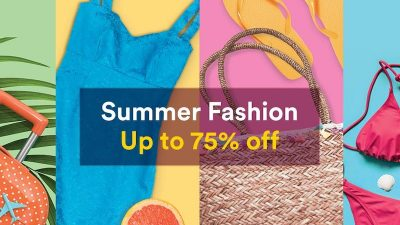 50% Off Summer SALE at Souq.com