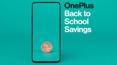 Back to School SALE at OnePlus