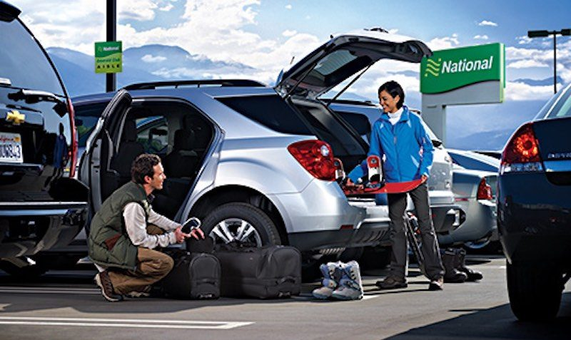 FREE Weekend Day Discount Coupon at National Car Rental