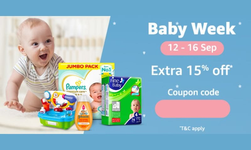 15% Off Baby Week Coupon at SOUQ UAE