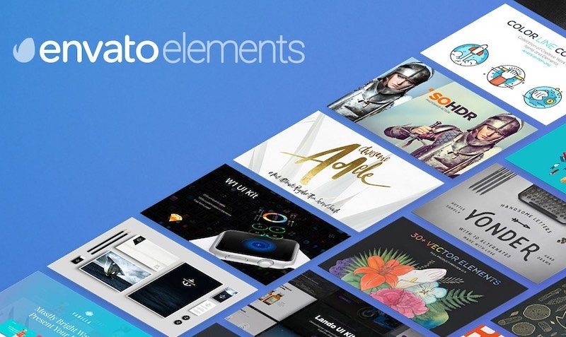 FREE Items to use at Envato Elements