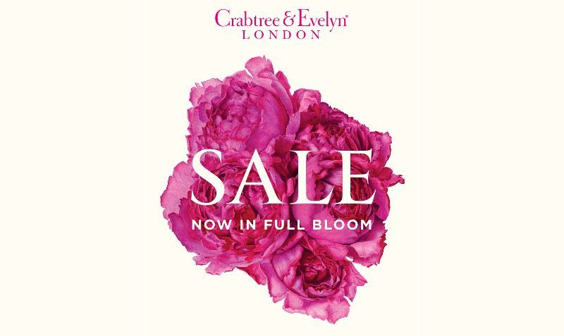 SALE at Crabtree & Evelyn