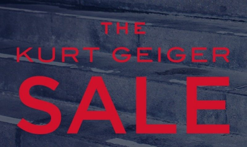 SALE at Kurt Geiger