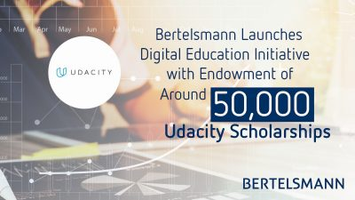 Bertelsmann Technology Scholarships - Udacity