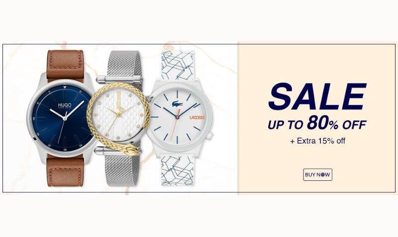 15% Off Discount Coupon at Ontime