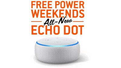 Echo Dot PLUS FREE Weekends SALE at Direct Energy