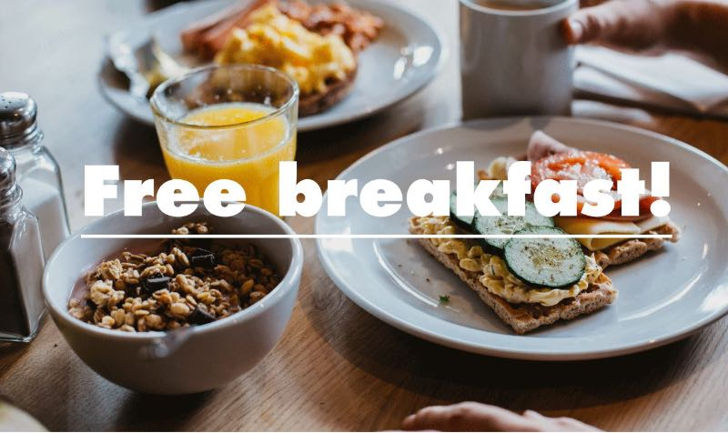 FREE Breakfast Promo Code at Clink Hostels