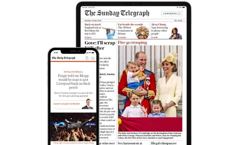 FREE Trial DEAL at The Telegraph
