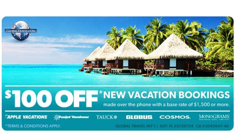 Discount Coupon at GlobalTravel.com