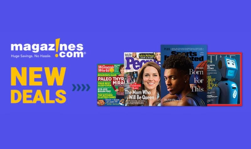 Subscriptions SALE at Magazines.com