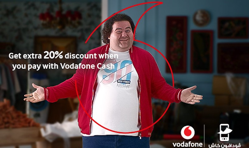 20% Extra Off With Vodafone Cash at Souq.com Egypt