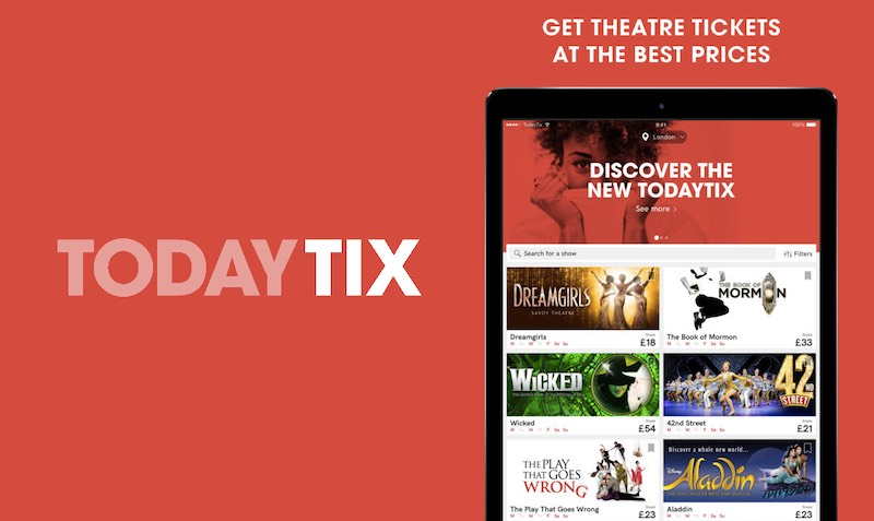 Discount SALE at 365 TodayTix