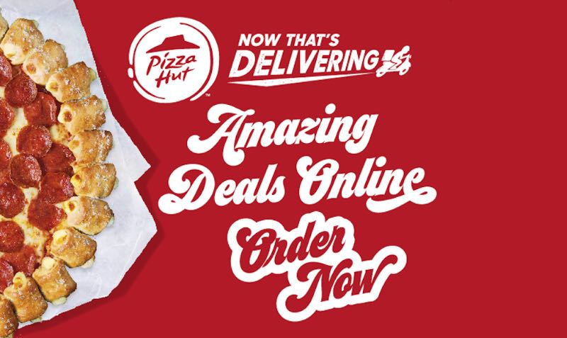 Amazing DEALS at Pizza Hut UK