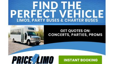 Amazing DEALS at Price 4 Limo and Bus Rental
