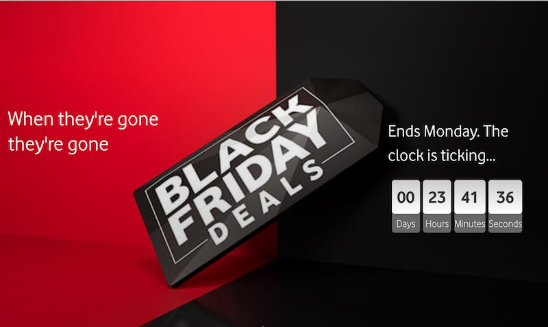 Black Friday DEALS at Vodafone Business UK