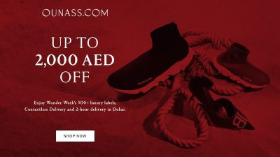 Upto 2000AED OFF Wonder Week SALE at OUNASS