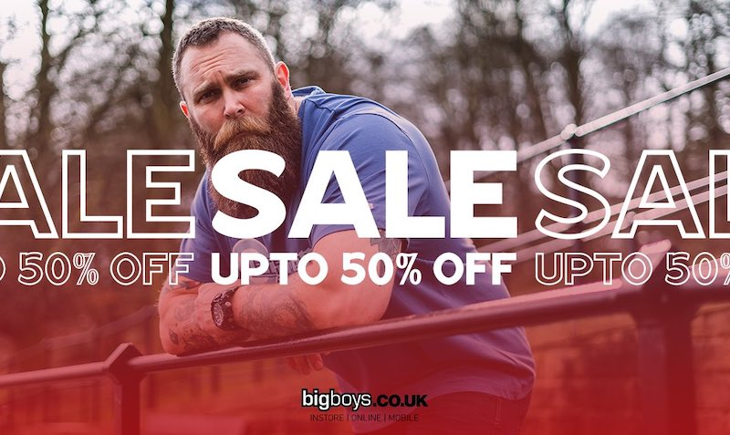 Discount SALE at Big Boys