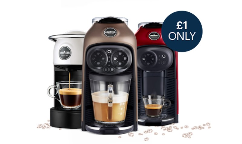 lavazza 1 free shipping sale offer