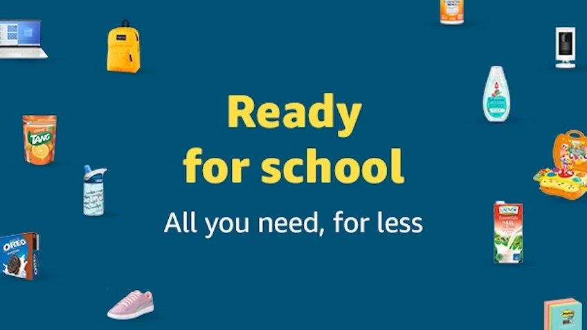 Ready for School Event SALE at Souq.com Amazon UAE