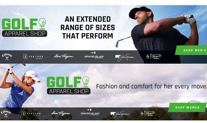 Discount Coupon at GolfApparelShop.com
