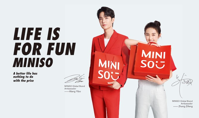 DISCOUNT SALE at MINISO