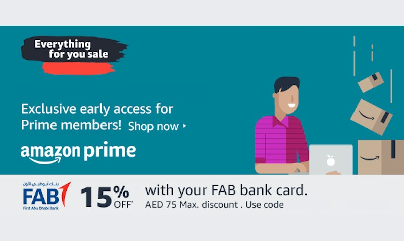 15% Amazon.ae (Souq) UAE Discount for FAB Cardholders