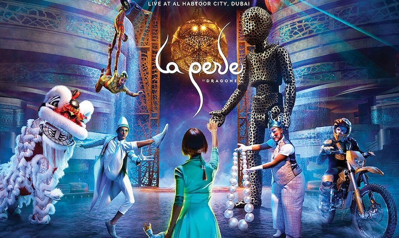 Complimentary La Perle tickets Discount SALE on Emirates Airlines