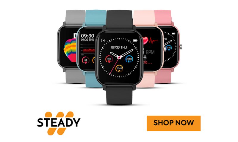 Discount SALE at STEADY Watch