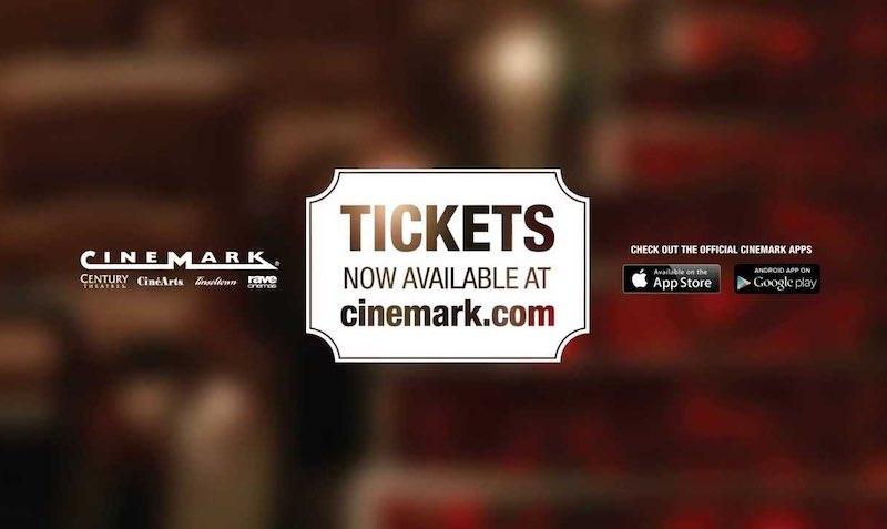 Discount SALE at Cinemark