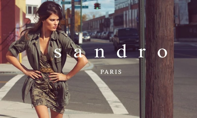 Discount SALE at Sandro